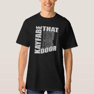 Kayfabe que puerta camisas