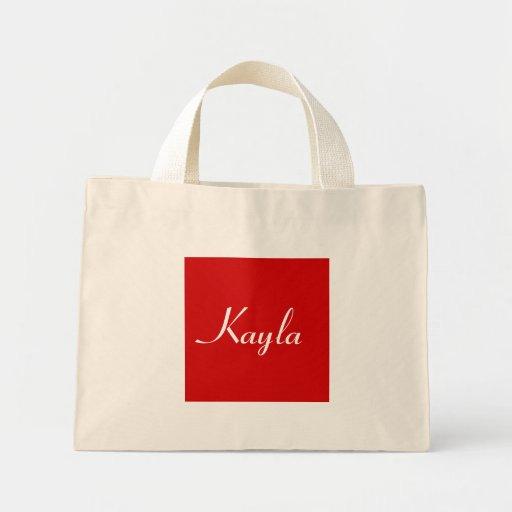 Kayla en IV natural Bolsas De Mano
