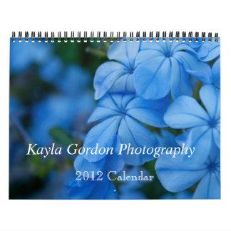 Kayla Gordon Photography 2012 Calendar