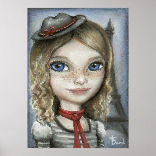 Kayla in Paris Poster
