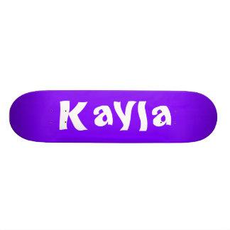 Kayla Personalized Skateboard Skate Boards