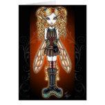 """""""Kayla"""" Steampunk Fairy Card"""
