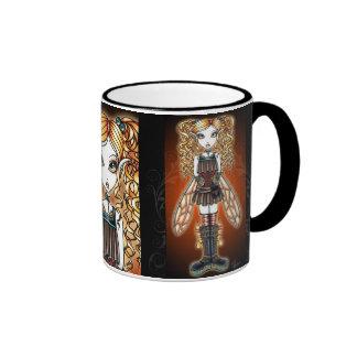 """Kayla"" Steampunk Fairy Mug"