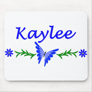Kaylee (Blue Butterfly) Mouse Pad