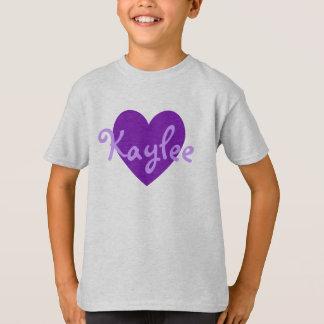 Kaylee in Purple T-Shirt