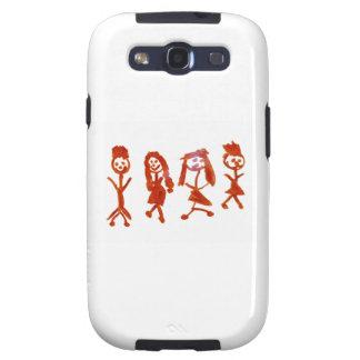 Kaylee mi familia 2013 Art1a Hoboken el MUSEO Zaz Galaxy S3 Funda