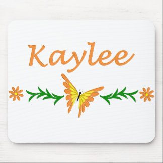 Kaylee (Orange Butterfly) Mouse Pad