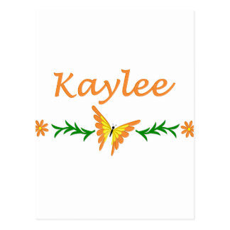 Kaylee (Orange Butterfly) Postcard