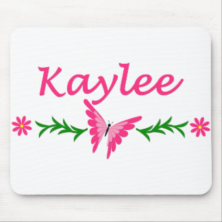 Kaylee (Pink Butterfly) Mouse Pad