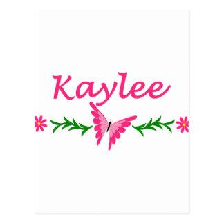 Kaylee (Pink Butterfly) Postcard