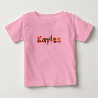 Kaylee pink short sleeve t-shirt for girls