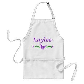 Kaylee Purple Butterfly Aprons