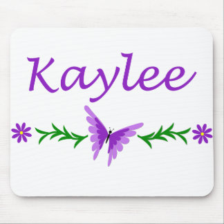 Kaylee (Purple Butterfly) Mouse Pad