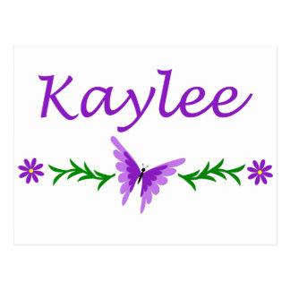 Kaylee (Purple Butterfly) Postcard