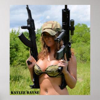"Kaylee Rayne- ""2 Guns"" Poster (28x20)"