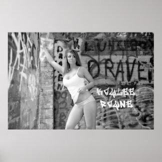 """Kaylee Rayne- Black & White Poster 01 (24""""x36"""")"""