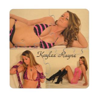 Kaylee Rayne- Coaster Puzzle 03 Puzzle Coaster