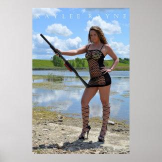 "Kaylee Rayne ""Shotgun Sunday"" Poster (24x36)"