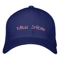 Kaylee Strong awareness hat