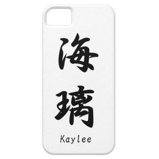Kaylee translated into Japanese kanji symbols. iPhone 5 Cases