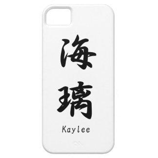 Kaylee translated into Japanese kanji symbols. iPhone 5 Cover