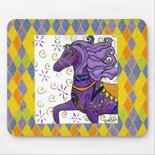 Kaylee's Horse Mouse Mats