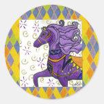 Kaylee's Horse Round Stickers