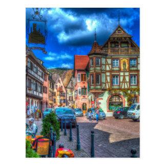 Kaysersberg Alsace France Postcard