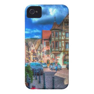 Kaysersberg Alsacia Francia iPhone 4 Funda