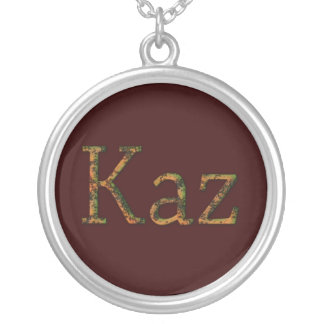 KAZ Name-Branded Gift Pendant Necklace