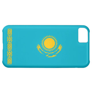 Kazajistán - bandera del Kazakh Funda Para iPhone 5C