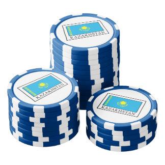 Kazajistán Juego De Fichas De Póquer