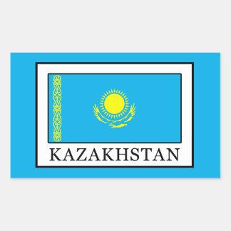 Kazajistán Pegatina Rectangular