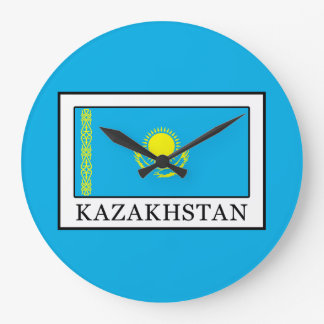 Kazajistán Reloj Redondo Grande
