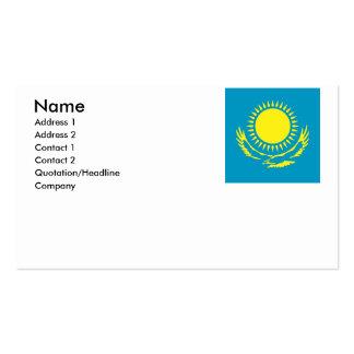 Kazajistán Tarjetas De Visita