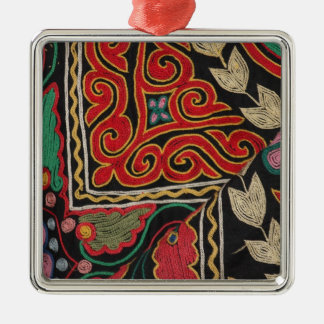 Kazakh Pattern Metal Ornament