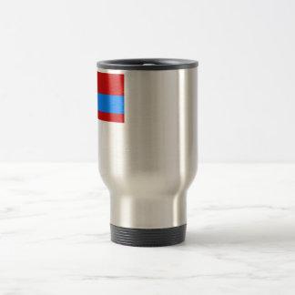Kazakh SSR Flag 15 Oz Stainless Steel Travel Mug