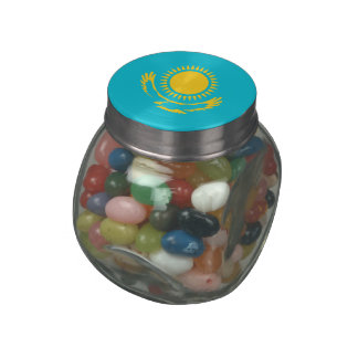 Kazakhstan Glass Jar