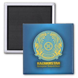 Kazakhstan COA 2 Inch Square Magnet