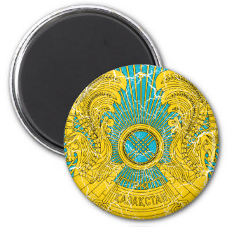 Kazakhstan Coat Of Arms 2 Inch Round Magnet