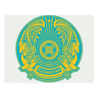 Kazakhstan Coat of Arms detail Post Card
