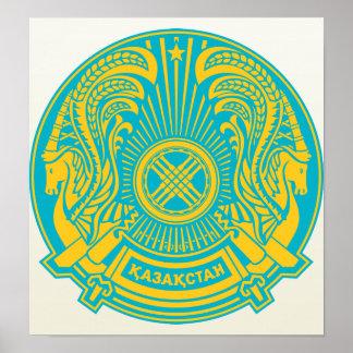 Kazakhstan Coat of Arms detail Posters