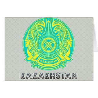 Kazakhstan Coat of Arms Greeting Cards