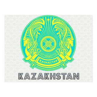 Kazakhstan Coat of Arms Postcards