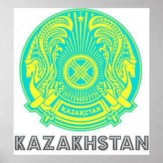 Kazakhstan Coat of Arms Print