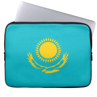 Kazakhstan country long flag nation symbol republi computer sleeve