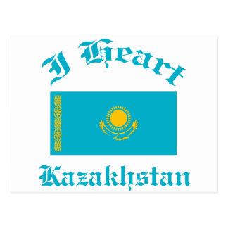 Kazakhstan Design Postcard