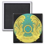 kazakhstan emblem 2 inch square magnet