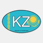 Kazakhstan Euro Sticker