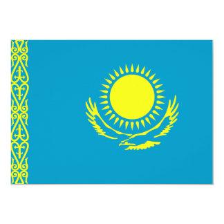 Kazakhstan Flag 5x7 Paper Invitation Card